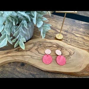 Handmade Clay Earrings -Valentine's Day Series